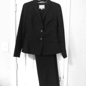 Banana Republic Black Suit: Blazer & Pants